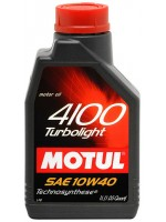 motul 4100 turbolight 10w40 1l 150x200